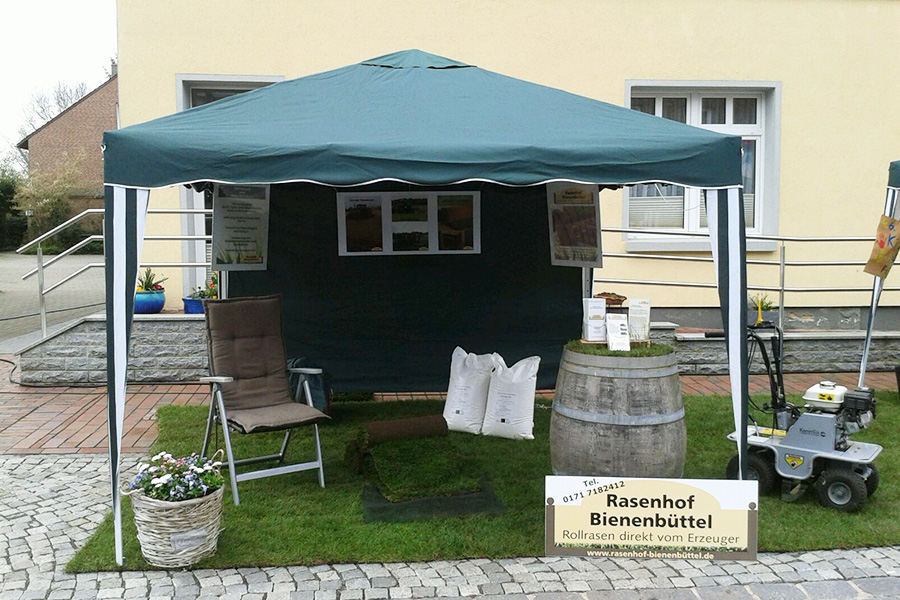 Stand Rollrasen Rasenhof Bienenbüttel